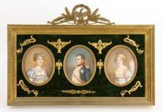19th C. Miniature Portraits