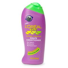 L'Oréal Paris Kids Extra Gentle Grape Conditioner for Thin to Normal Hair - Modern Medium Thin Hair, Eyes Lips Face, Diy Cleaning Products, Homemade Products, Smooth Hair, Free Hair, Loreal Paris, Face And Body, Hair Care