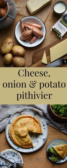 Cheese, Onion & Potato Pithivier #BarbersCookBook - Patisserie Makes Perfect