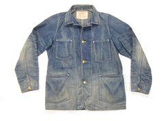 Levis Vintage Clothing Levi's Lvc Vintage Repro 1920s Lot 67 Denim Sack Chore Jacket S Size S $150 - Grailed