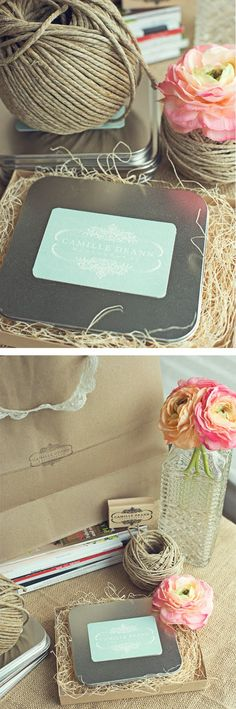 totally adorable photography packaging   http://thesavvyphotographer.blogspot.com/2011/05/fabulous-packing-by-camille-deann.html
