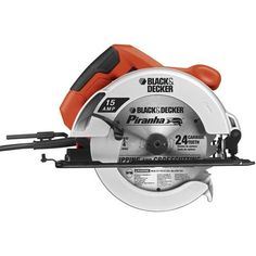 Black  Decker CS1015 15-Amp 7-1/4-Inch Circular Saw - The BLACK  DECKER CS1015 15amp 7-1/4-Inch Circular Saw is driven by a powerful 15-Amp motor that is ideal for most cutting applications. It features easy to use bevel adjusmustment that