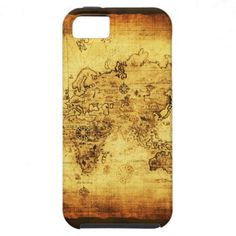 Old World Map iPhone Case iPhone 5 Cover  Click on photo to purchase. Check out all current coupon offers and save! http://www.zazzle.com/coupons?rf=238785193994622463&tc=pin