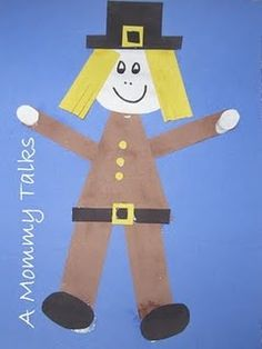 pilgrim shape craft - Re-pinned by @PediaStaff – Please Visit http://ht.ly/63sNt for all our pediatric therapy pins
