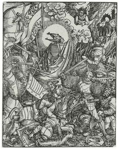 Master oft Petrarch, The Battle Of St. Ulrich (former attribution: Hans Burgkmair, the Elder)