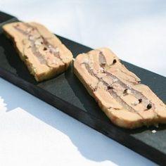 Terrine de foie gras à la poire