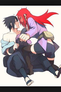 Sasuke x Karin   SasuKarin   Ice & Spice   Blue / Black & Red / Purple   Naruto Shippuden couple   OTP