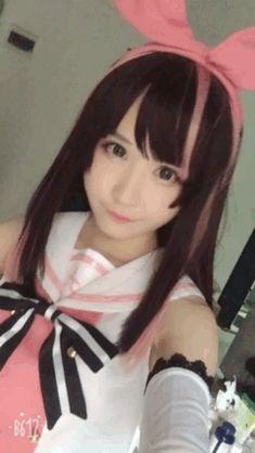 character :kizuna AI(youtuber) / cosplayer :矮乐多Aliga
