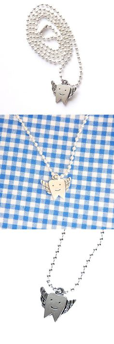 Children's Lost Tooth Charm Necklace Tooth Fairy Gift
