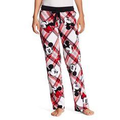 Disney Minnie   Mickey Fleece Pant Red Fleece Pants f070e8a79