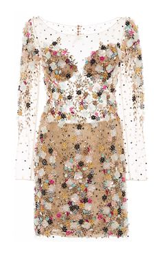 Beaded Cocktail Dress by Patricia Bonaldi for Preorder on Moda Operandi
