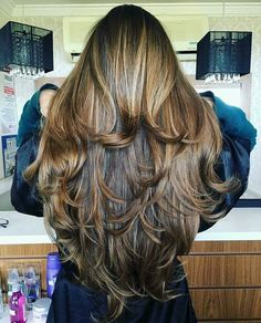 Hair Long Layers Perms New Ideas Haircuts For Long Hair, Long Hair Cuts, Hairstyles Haircuts, Pretty Hairstyles, Beautiful Long Hair, Gorgeous Hair, Big Hair, Wavy Hair, Hair Treatment Mask