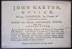 The cost of shoplifting in Georgian England - a one way ticket to Sidney, via Spitalfields Life
