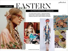 Spring/Summer 2017 Print & Pattern Trend Report - Eastern