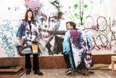 #kimono #contemporary #art #fashion Contemporary Art, Kimono Top, Tops, Women, Fashion, Moda, Fashion Styles, Fashion Illustrations, Modern Art