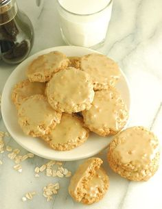"""This is my family's all time favorite cookie recipe. They're so popular we've dubbed them the """"Magic Oatmeal Cookies"""". Candy Recipes, My Recipes, Sweet Recipes, Cookie Recipes, Maple Candy Recipe, Grandma Cookies, Best Oatmeal Cookies, Favorite Cookie Recipe, Thing 1"""