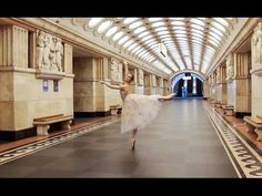 The first American Bolshoi ballerina - YouTube