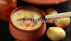 Πατατόσουπα με πάπρικα