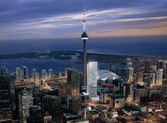 Toronto and it's CN Tower.