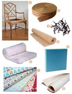 How To Upholster a Slip Seat from Scratch Supplies