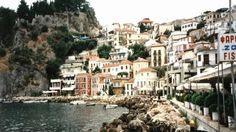 One of my favorite places in Greece; Wonderful Places, Beautiful Places, Greece Wallpaper, Travel Around The World, Around The Worlds, Places In Greece, Greek Music, Dream City, Heaven On Earth