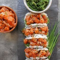 Salmon Poke Sushi Tacos | 17 Sushi-Food Hybrids That Will Make You Question Everything
