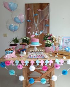 Baby fever gender reveal ideas for 2019 Country Gender Reveal, Gender Reveal Games, Gender Reveal Party Decorations, Baby Gender Reveal Party, Gender Party, Baby Shower Balloons, Baby Shower Parties, Reveal Parties, Blog