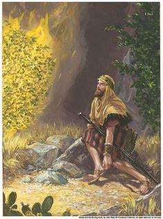 Зачем моисей снял обувь