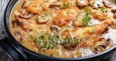Marsala Sauce, Marsala Recipe, Brown Sauce, Chicken Marsala, Italian Dishes, Almond Recipes, Different Recipes, Fresh Herbs, Chicken Recipes