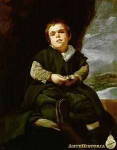 Velázquez.  El Niño de Vallecas, Francisco Lezcano