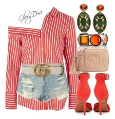 """Untitled #117"" by chichimia on Polyvore featuring Topshop, Hollister Co., Givenchy and Gucci"