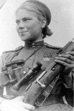 Soviet Sniper, WW II