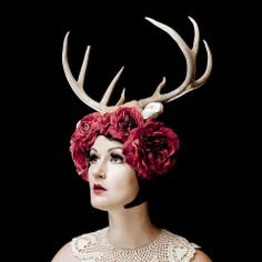 head dress for spring scene?