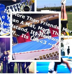 Cheer is more than a sport, it's life:)