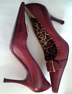 #twitter#tumbrl#instagram#avito#ebay#yandex#facebook #whatsapp#google#fashion#icq#skype#dailymail#avito.ru#nytimes #i_love_ny     Dolce & Gabbana Purple  Leather Pumps W/gold Buckle Size 38 US 7,5 #DolceGabbana #PumpsClassics #Clubwear