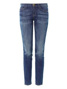 Current/Elliot The Ankle Mid-Rise Skinny Jean