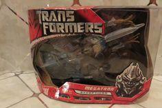 2007 Hasbro Transformers Movie Voyager Megatron Decepticon Action Figure New…