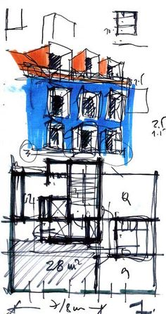 Esquissos Arquitectura  (by Pedro Costa Gomes, Arq.)
