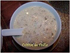 Une soupe que nous adorons à la maison je la faisais pendant le Ramadan pour changer un peu de notre soupe traditionnel marocaine harira (je mettrais la recette de harira dans un autres poste ) .  ingrédient pour 4 … Lire la suite