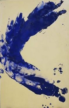 "A fine-art giclée print on canvas of ""Anthropometry: Princess Helena"" by Yves Klein Klein employed female models as ""living paintbrushes"" to make this work and others in his ""Anthropometry"" series, named after the study of human body mea. Jasper Johns, Jackson Pollock, Tachisme, Nouveau Realisme, Yves Klein Blue, Neo Dada, Cy Twombly, Gerhard Richter, Georges Braque"