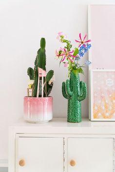 Desejei ~ vaso de cactos Studio Dewinkel