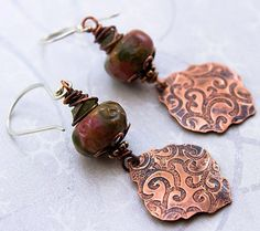 Love My Art Jewelry: Custom orders, and one happy customer. Me