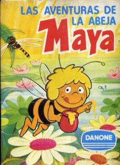Álbum de cromos de La Abeja Maya