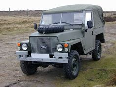 "Land Rover SIII Lightweight 88"". I want one."