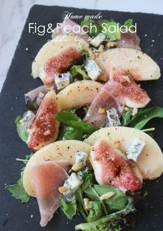 イチジクと桃の前菜サラダ by jourfin [クックパッド] 簡単おいしいみんなのレシピが245万品