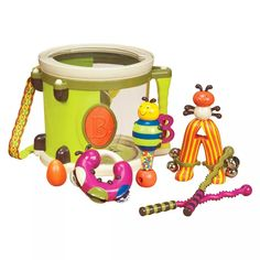 Shop for B Toys – Parum Pum Pum – Toy Drum Kit With 7 Musical Instruments For Kids 18 Months + Starting from Choose from the 2 best options & compare live & historic toys and game prices. Toddler Toys, Baby Toys, Kids Toys, Toddler Gifts, Baby Musical Toys, Toddler Fun, Kids Gifts, Learn Drums, Kids Drum Set