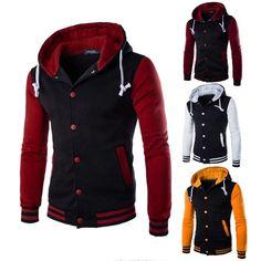 YUNY Mens Plus Velvet Cotton Md-Long Hooded Pockets Jacket 1 XL