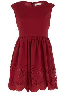 Dorothy Perkins Maroon Dress.
