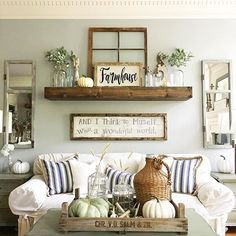 This lovimg space looks so relaxing and inviting!