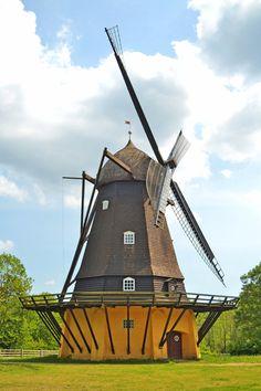 Molino de viento histórico